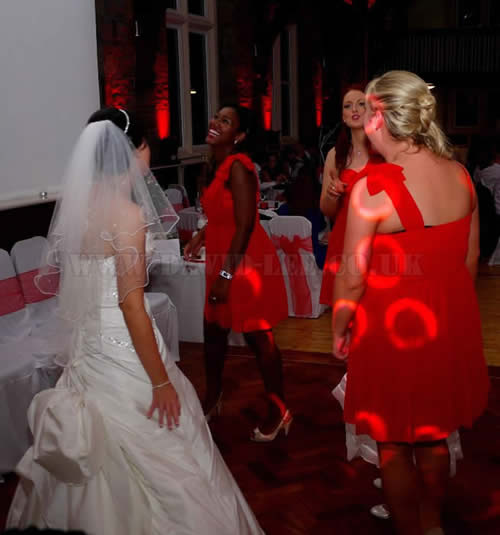 Bride & Bridesmaid Dancing in Oldham