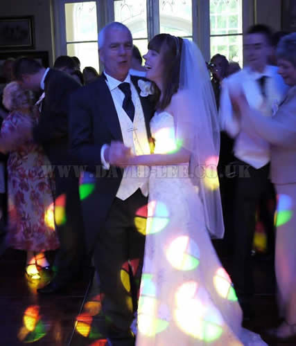 Father Bride Dance in Lancashire