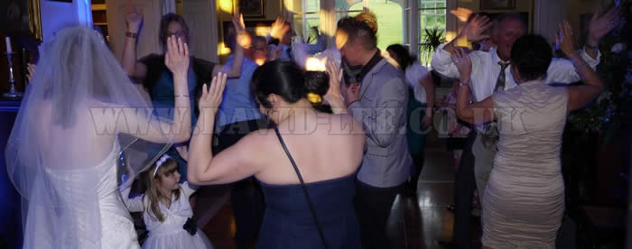 Leighton Hall Wedding Guests Dancing