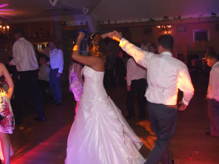 Farraris bride and groom showing off their moves...