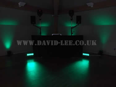green venue lighting at white hart oldham