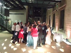 Manchester Art Gallery, wedding venue, group hug now!