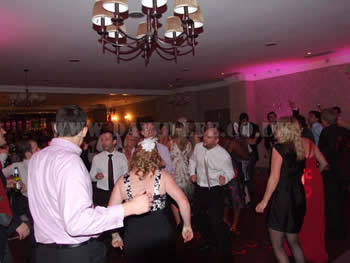 Dancing all night long at Mottram Hall