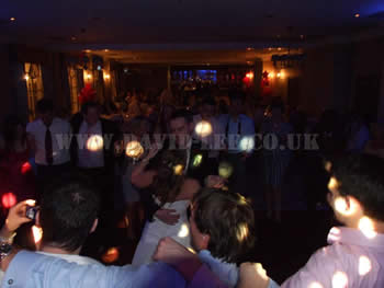 Last dance of the night for the bride and groom at Mottram Hall