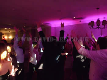 sometime i feel like putting my hands up in the air!!!at Mottram Hall