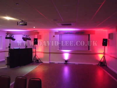 venue lighting at rochdale rugby club