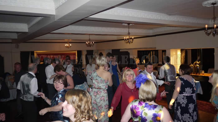 Party time at Deanwater Hotel cheshire