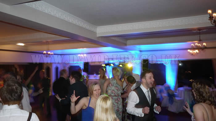 Wedding Disco at the Deanwater Hotel