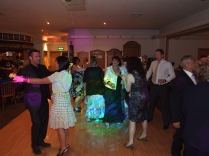 Denton Golf Club, Party Times for the wedding guests