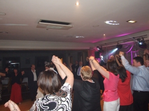 Denton Golf Club, Party Times for the wedding guests - Finale time still