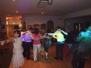 Denton Golf Club, Party Times for the wedding guests - Still hugging!!!!