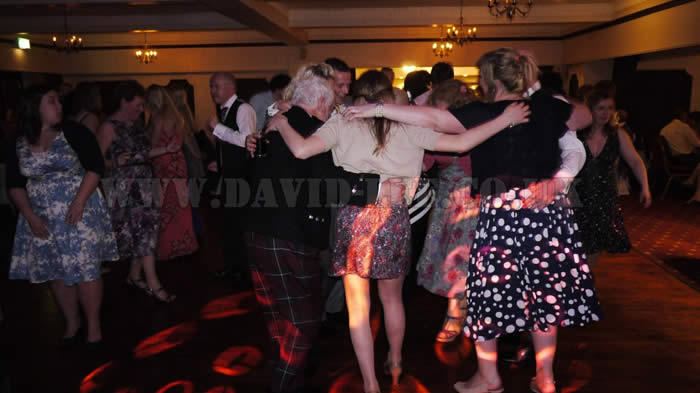 wedding disco at The Deanwater Hotel cheshire