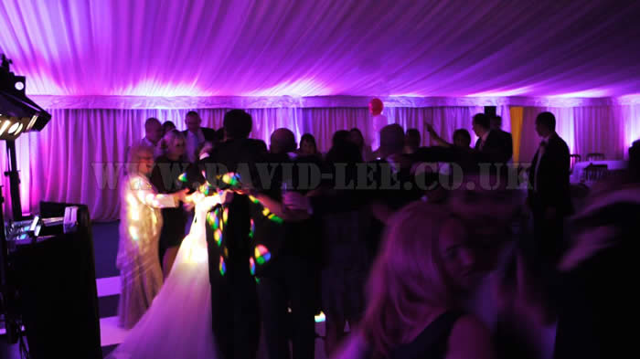 Lancashire Marquee lighting at Scarisbrick Hall