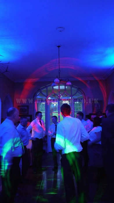 Groom and Ushers Dancing at Leighton Hall Lancashire