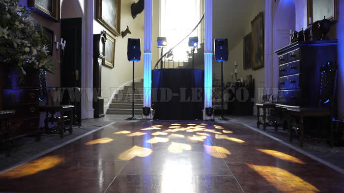 Leighton Hall Wedding DJ