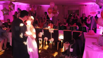 First dance at the white hart restaraunt