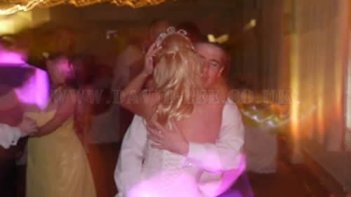 Brides and groom first dance at Quarry Bank Mill