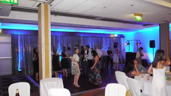wedding dj and disco at Marriott victoria and albert hotel