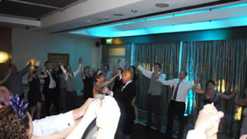 Finale dance at a wedding at Marriott victoria and albert hotel