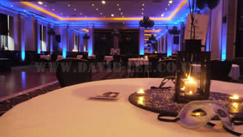 halle suite with venue up-lighting at Radisson Edwardian Manchester