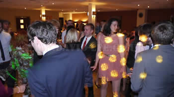 Guests dancing at Worsley Marriott Hotel