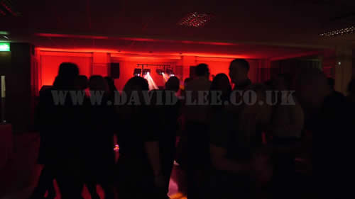 All the guests dancing at Buile Hill Park Hill
