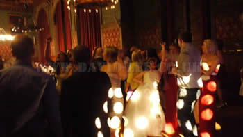 Manchester Town Hall wedding disco