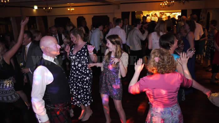 Dancefloor still full at the deanwater hotel
