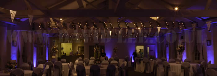 Quarry Bank Mill Wedding DJ & Lighting