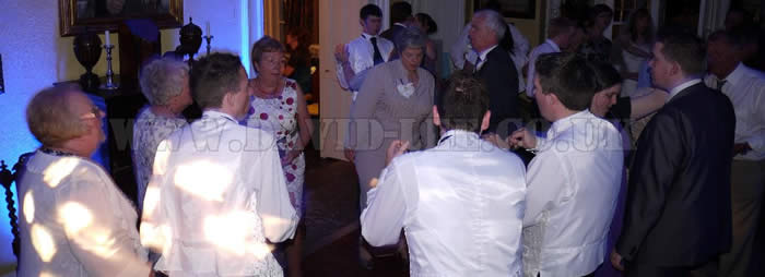 Wedding Disco at Leighton Hall