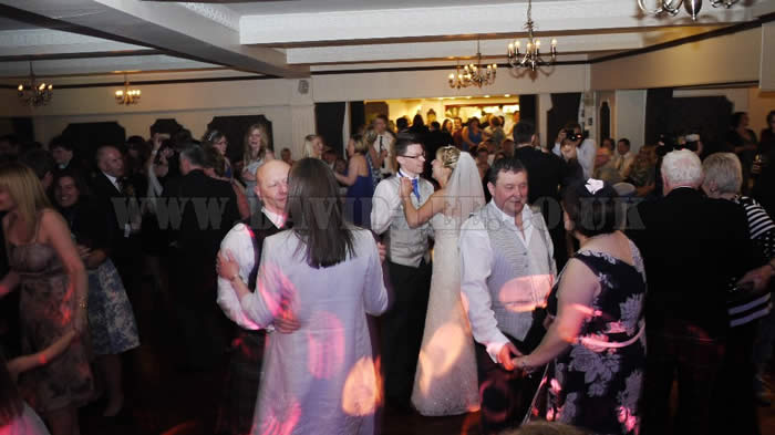 the cheshire wedding dj at deanwater hotel