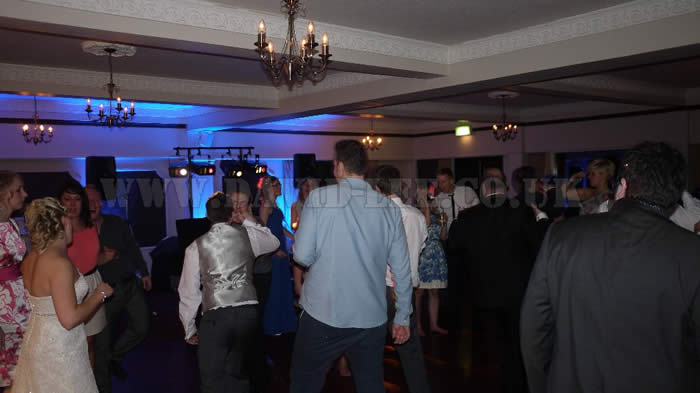 Dancefloor full at The Deanwater Hotel