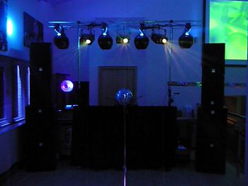 top tier grill, rochdale, 18th birthday club disco set-up