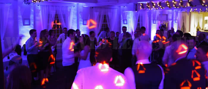 Uplighting and DJ Service in Cheshire